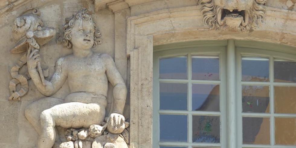 Le quartier du Marais (visite guidée in situ), le plus aristocratique et l'un des mieux préservés des quartiers de Paris