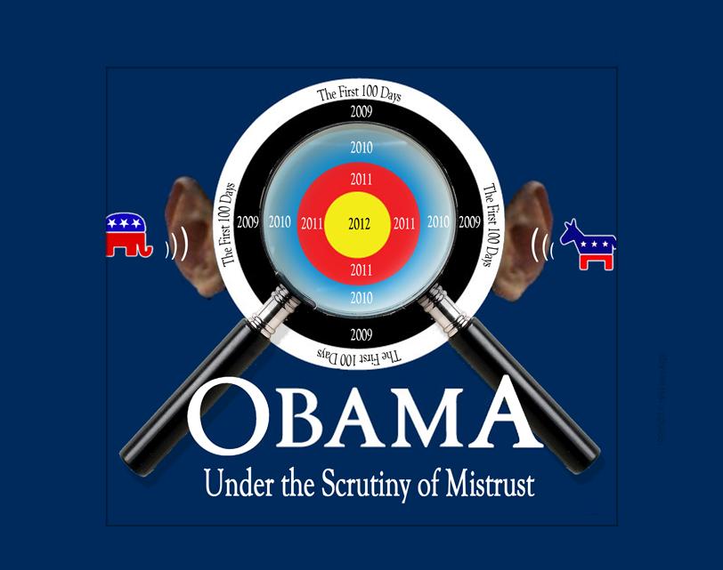 Targeting Obama Illustration
