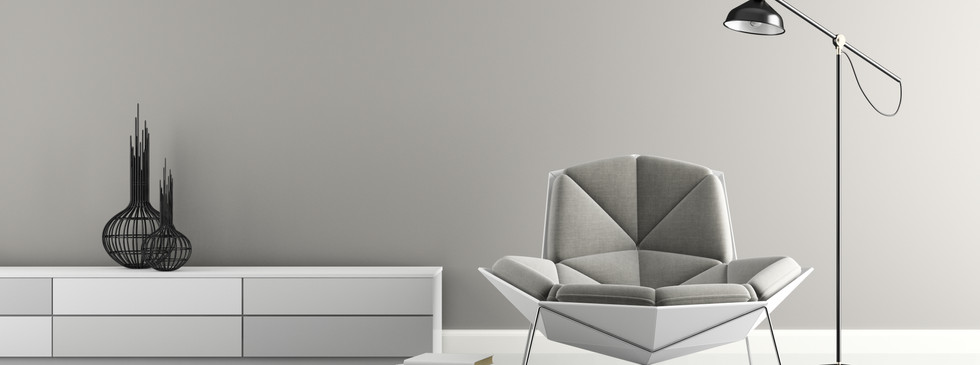 part-of-interior-with-modern-grey-armcha