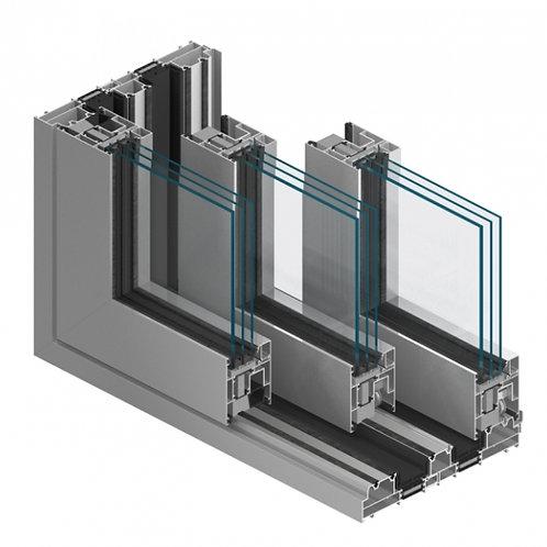 Fenêtre aluminium isolant à translation