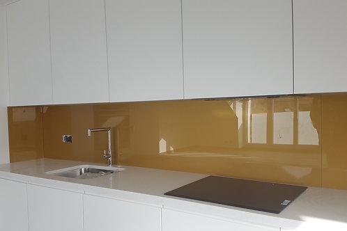 Entre meuble de cuisine verre teinté PVB