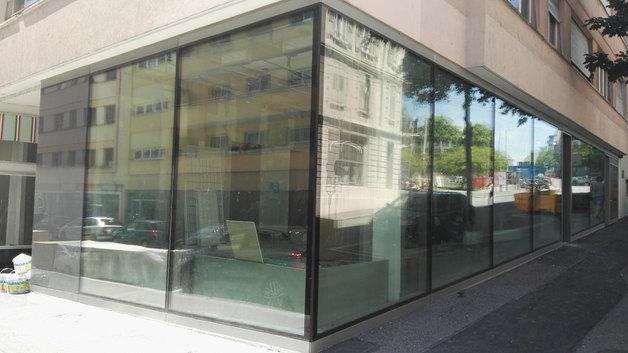 Lausanne av. de Morge surface commercial