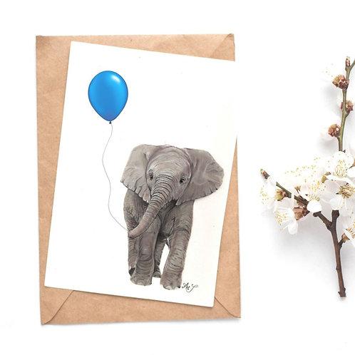 Elephant - BlueBalloon