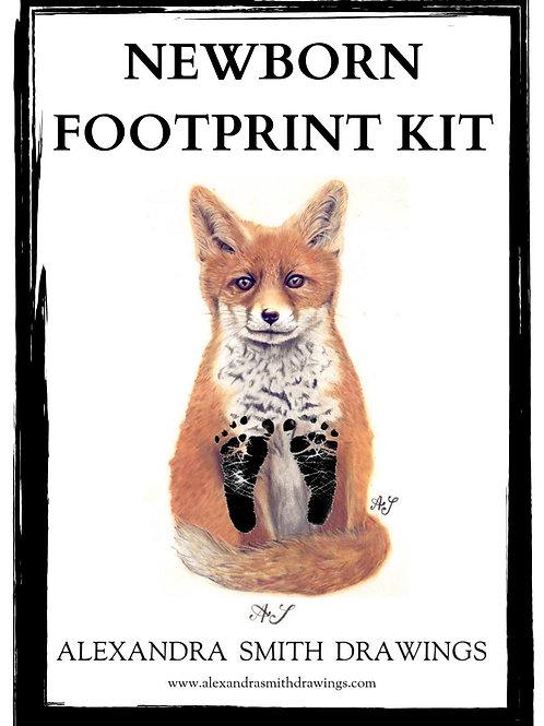 Baby Footprint Kit, Fox Print