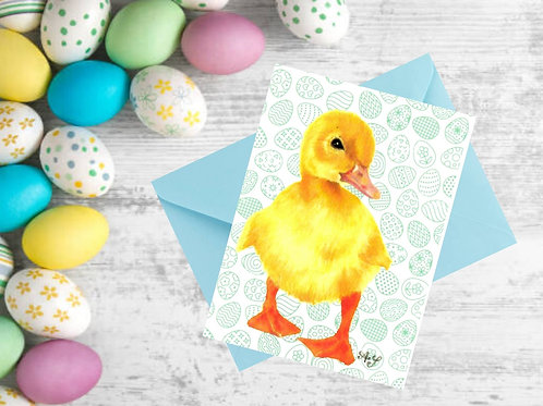 Easter Duckling - Blue