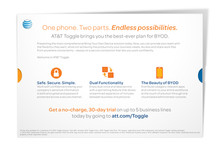 AT&T Small Business Mailer