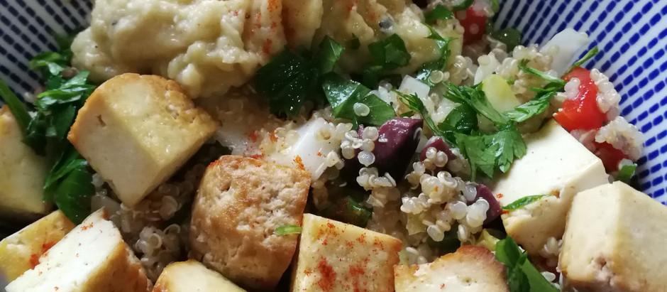 Tofu Quinoa Power Bowl