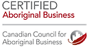 Certified Aboriginal Business white back