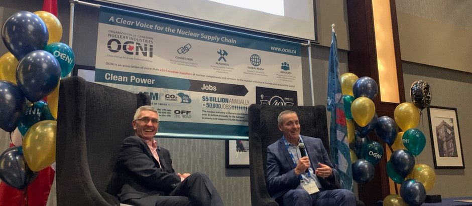 OCNI Welcomes Ontario Power Generation President as Keynote Speaker at its 40th Anniversary AGM
