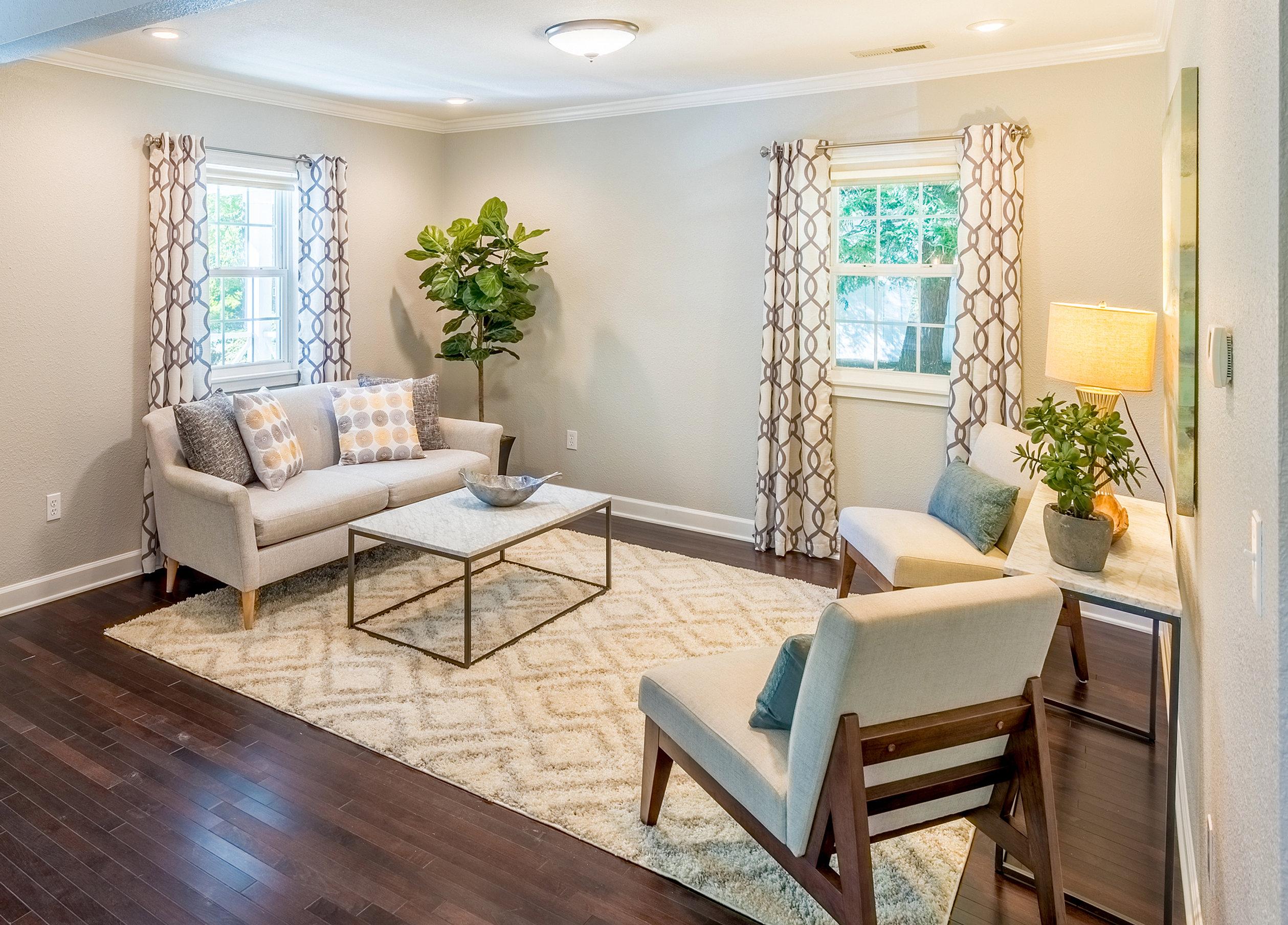 home staging living room - Home Staging Design