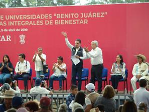 La educación nos hará sumar esfuerzos con el presidente: Silvano Aureoles