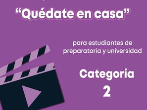 Extiende SEE concurso de video #QuédateEnCasa para educación media superior y superior.