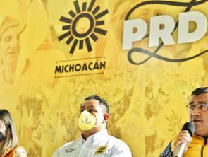Se respetarán tiempos y procesos internos del partido: PRD Michoacán