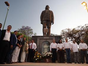 Llama Morón a reivindicar los ideales del General Cárdenas y dar solidez a la Patria