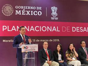Michoacán, pilar determinante para la nueva visión de Mexico: Silvano Aureoles