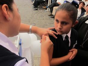 Vacunación, la forma más efectiva de detener el sarampión: SLIPE