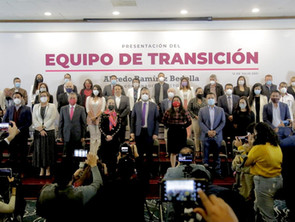 La foto del Equipo de Transición