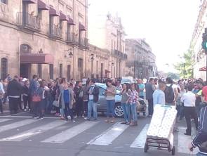 El SUEUM se  plantará en centro de Morelia  en demanda de pago de salarios y aguinaldos