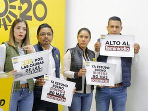 PRD Michoacán se suma al Paro Nacional de Mujeres el 09 de Marzo