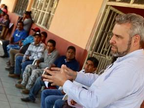 Alfredo Ramírez propone legislar con participación ciudadana