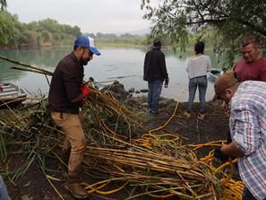 Ayuntamiento de Morelia realiza segunda jornada de limpieza en el Manantial la Mintzita