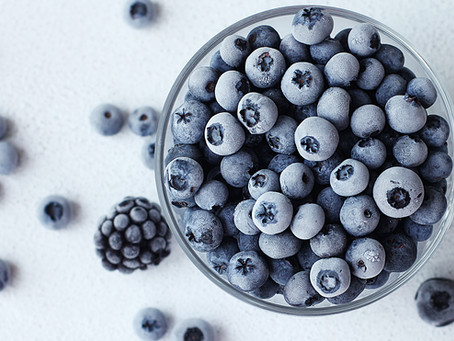 Berry Nice: Cooking with Frozen Blueberries