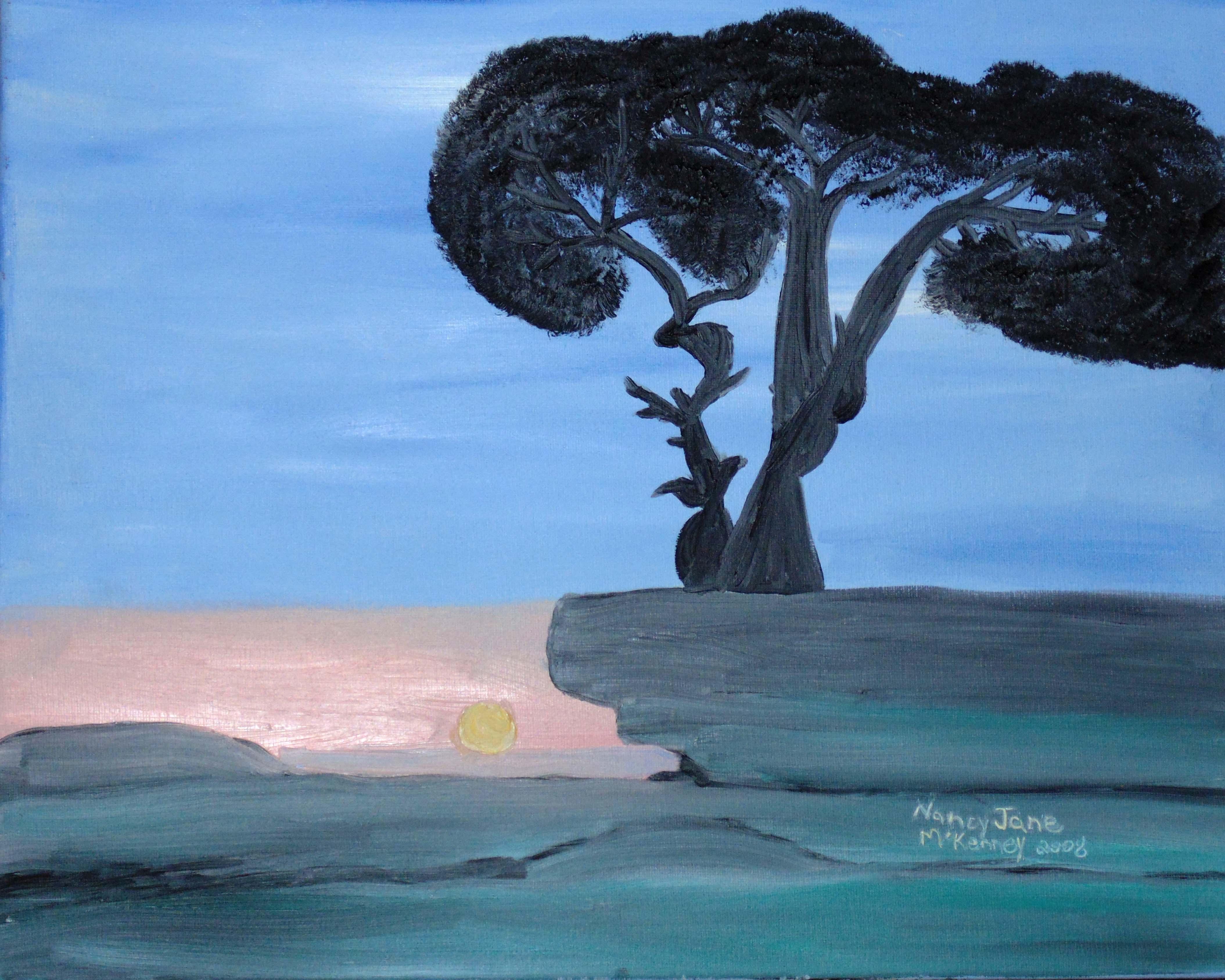 tree silouette