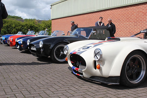 GD Cobra replica's and T70 spyders at GD Open day