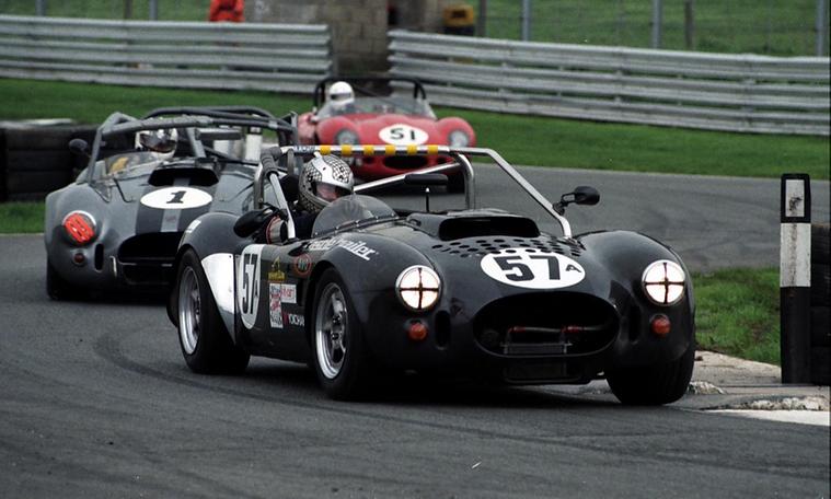 GD Mk3 Cobra replica racing