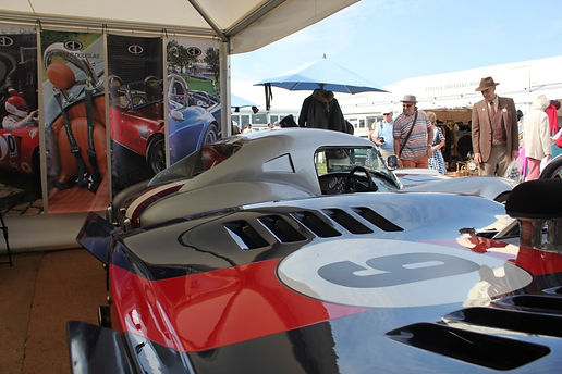 GD cobra replica's and T70 sypders at Goodwood Revival