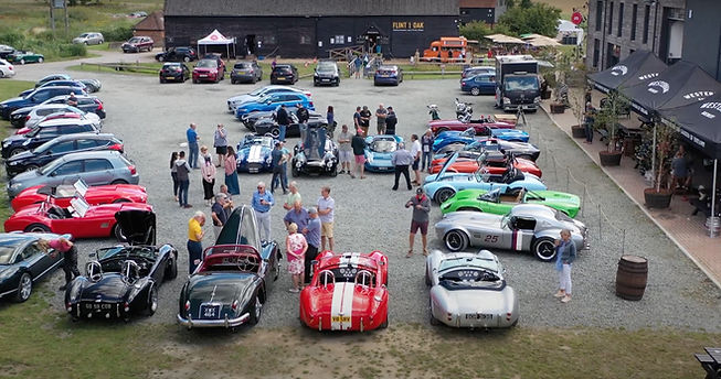 GD cobra replica's and T70's at Westerham Brewery