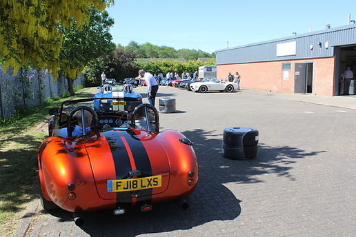 GD Cobra replica's and T70's at GD open day