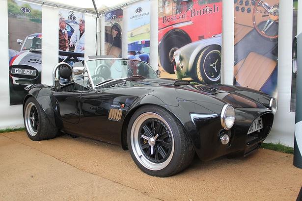 GD Cobra replica and T70's at Goodwood Revival
