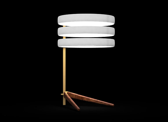 Stack 3 Offset Table Lamp