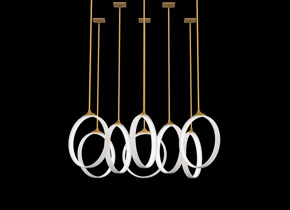 Mono Rigid Pendant Set - 8 Ring Grid