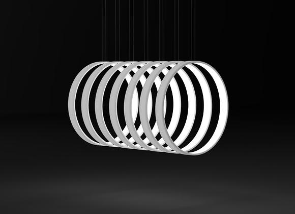Straight Rhythm - 7 Rings Minimalist