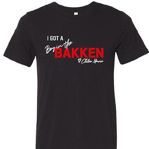 """""""I Got a Boy in the Bakken"""" t-shirt"""