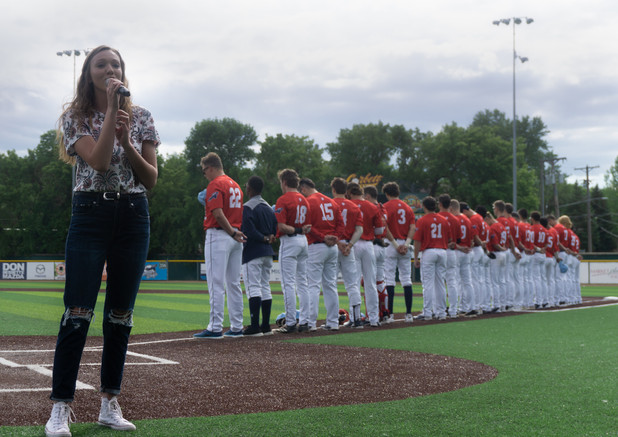 By Devan Shumway, National Anthem, Sabre Dogs