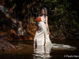Trash the dress Paula
