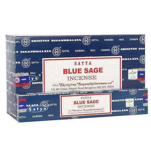 SATYA BLUE SAGE INCENSE