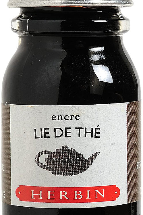 J.HERBIN INK, LIE DE THÉ, BROWN TEA 10ML