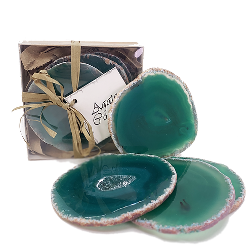 COASTER; AGATE GREEN