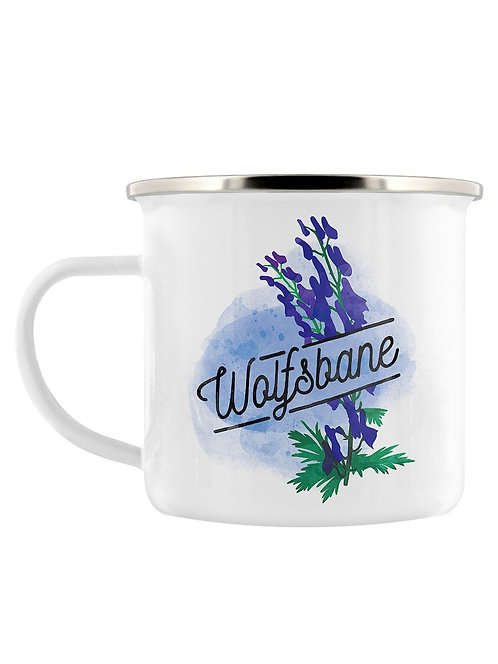 DEADLY DETOX- WOLFSBANE ENAMEL MUG