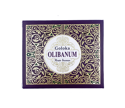 GOLOKA OLIBANUM RESIN INCENSE 50G