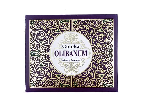 GOLOKA OLIBANUM RESIN INCENSE 50G