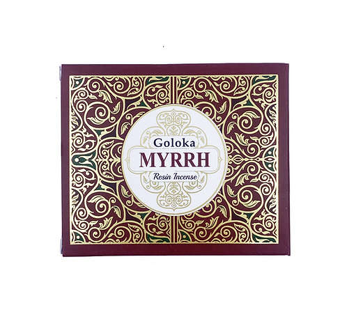 GOLOKA MYRRH RESIN INCENSE 50G