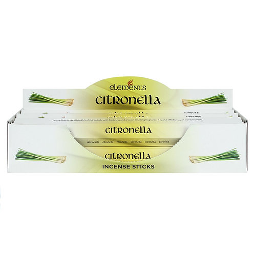 ELEMENTS CITRONELLA INCENSE