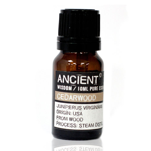 ANCIENT WISDOM ESSENTIAL OILS, CEDERWOOD 10ml