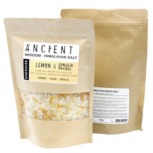 ANCIENT WISDOM HIMALAYIAN SALT - ENERGISE 500g