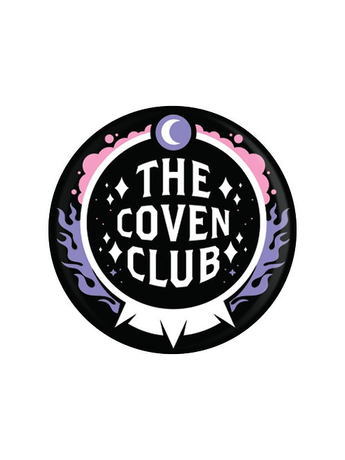 THE COVEN CLUB BADGE
